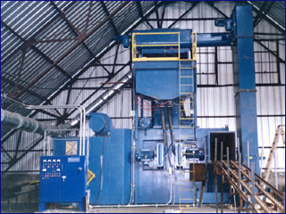 drum descaling machine